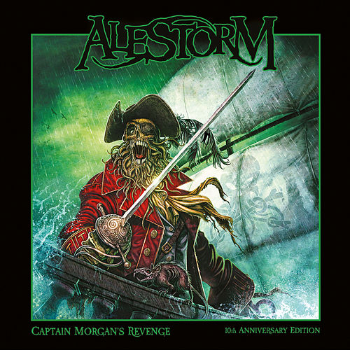 Captain Morgan`s Revenge - 10th Anniversary Edition van Alestorm
