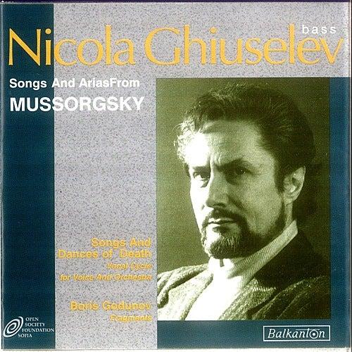 Songs and Arias from Mussorgsky de Nicola Ghiuselev