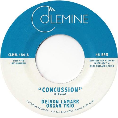 Concussion de Delvon Lamarr Organ Trio