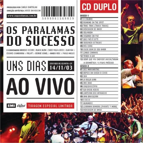 Uns Dias Ao Vivo by Various Artists