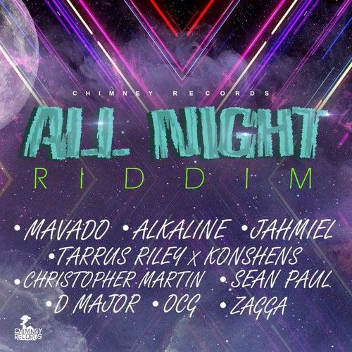 All Night Riddim - EP de Various Artists