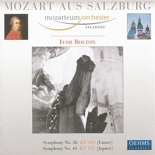 MOZART, W.A.: Symphonies Nos. 36, 'Linz' and 41, 'Jupiter' (Salzburg Mozarteum Orchestra, Bolton) by Ivor Bolton