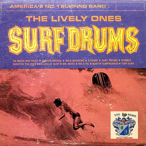 Surf Drums de The Lively Ones