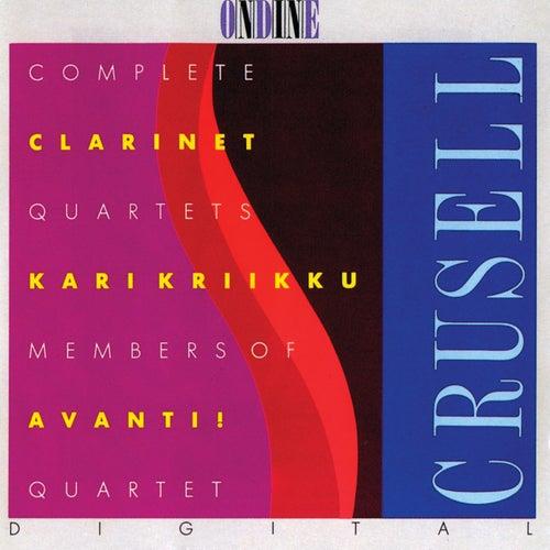 Crusell: Complete Clarinet Quartets by Kari Kriikku