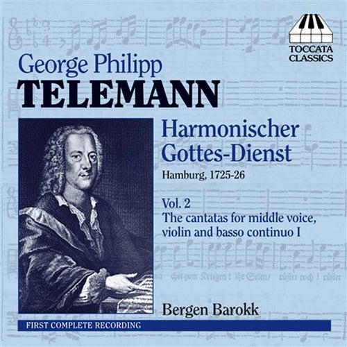 Telemann: Harmonischer Gottes-Dienst, Vol. 2 - Six Cantatas de Bergen Barokk