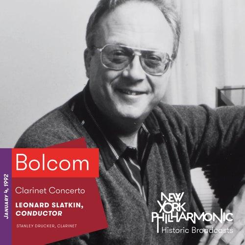 Bolcom: Clarinet Concerto de Stanley Drucker