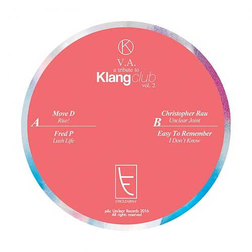 A Tribute To Klang Club, Vol. 2 - Single by Various Artists