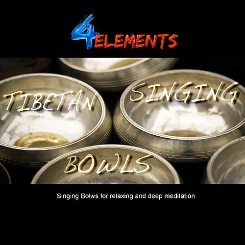 Tibetan Singing Bowls ( Gold Edition ) for Relaxing and Meditation von 4 Elements