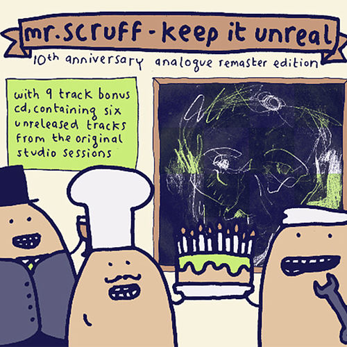 Keep It Unreal (10th Anniversary Analogue Remaster Edition) de Mr. Scruff