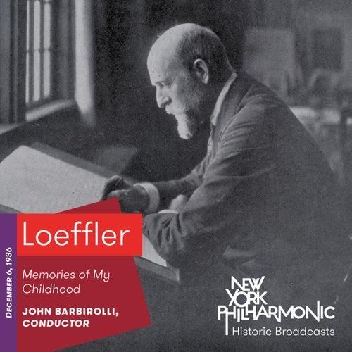 Loeffler: Memories of My Childhood de New York Philharmonic