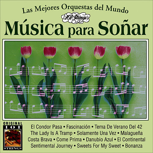 Musica Para Soñar -101 Strings Vol.19 by Instrumental 101 Orchestra