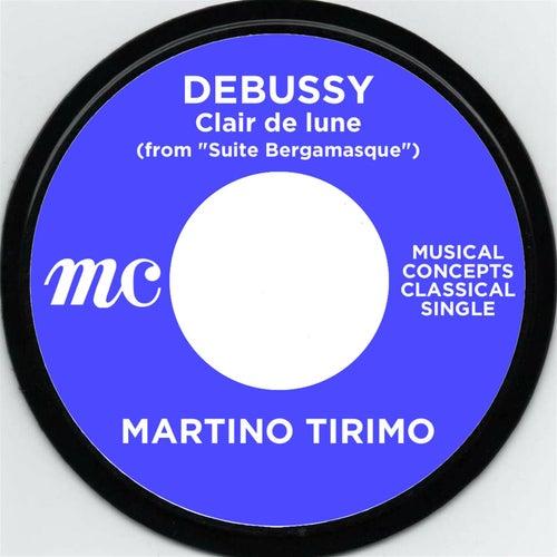 "Debussy: Claie de lune (from ""Suite Bergamasque) de Martino Tirimo"