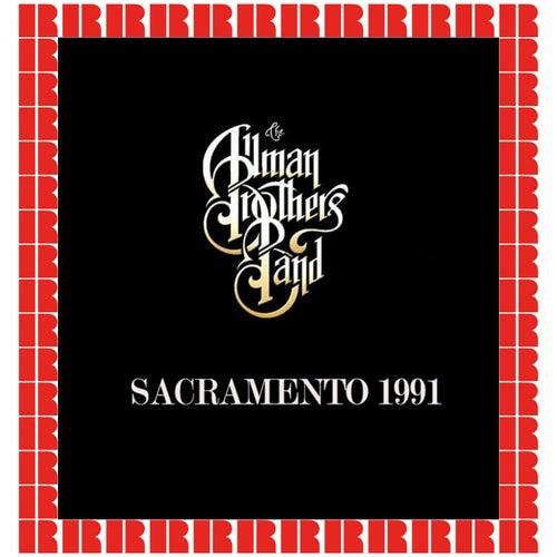 1991-10-05 Cal Expo Amphitheater Sacramento, CA de The Allman Brothers Band