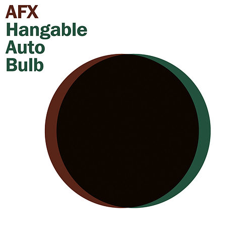 Hangable Auto Bulb by Aphex Twin