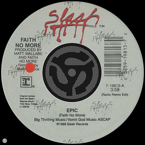Epic [Radio Remix Edit] / Edge Of The World [Digital 45] von Faith No More