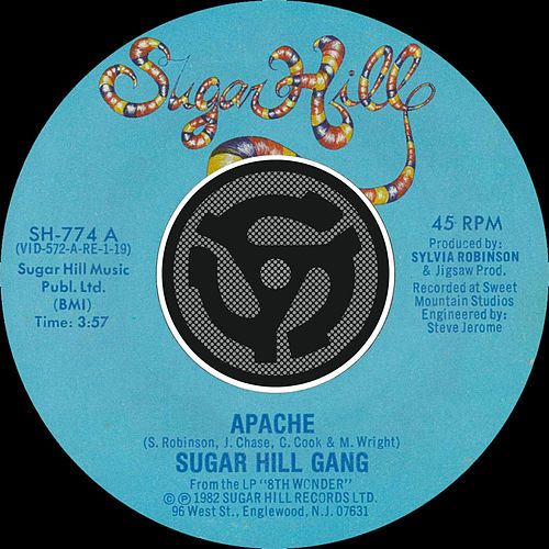 Apache / Rapper's Delight de The Sugarhill Gang