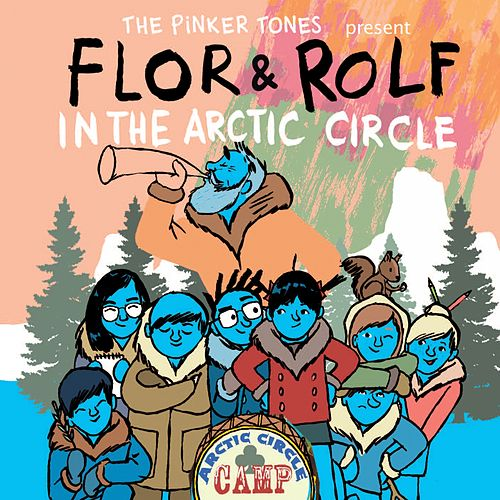 Flor & Rolf in the Arctic Circle von The Pinker Tones