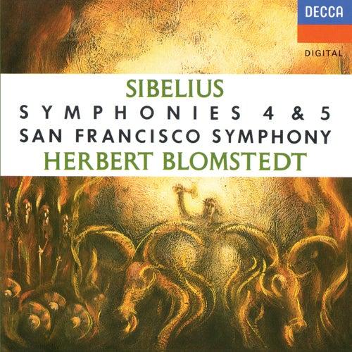 Sibelius: Symphonies Nos. 4 & 5 de Herbert Blomstedt
