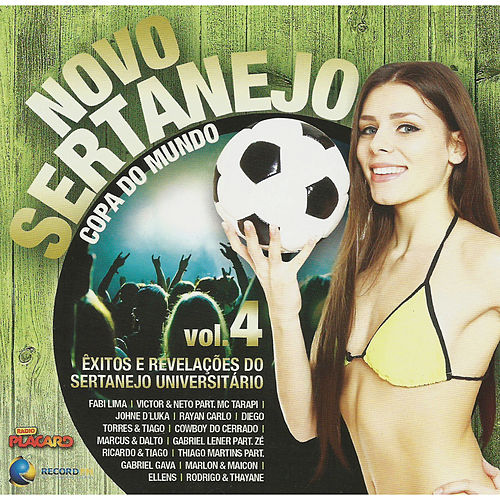 Novo Sertanejo Vol.4 de Various Artists