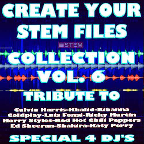 Create Your Stem Files Collection Vol 6 ( Special Instrumental tracks with separate sounds & Remix Versions) [Tribute To Shakira-Rihanna-Ed Sheeran Etc..] de Express Groove