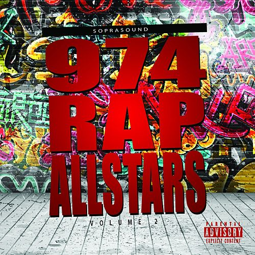 974 Rap Allstars, Vol. 2 de Various Artists