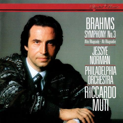 Brahms: Symphony No. 3; Alto Rhapsody de Riccardo Muti