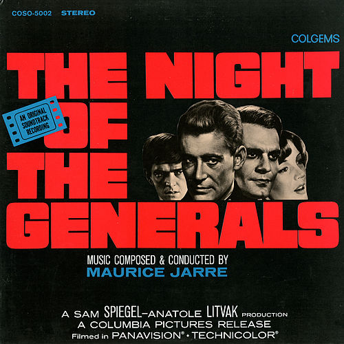 The Night of the Generals von Maurice Jarre