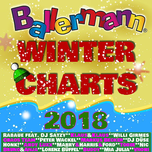 Ballermann Winter Charts 2018 von Various Artists