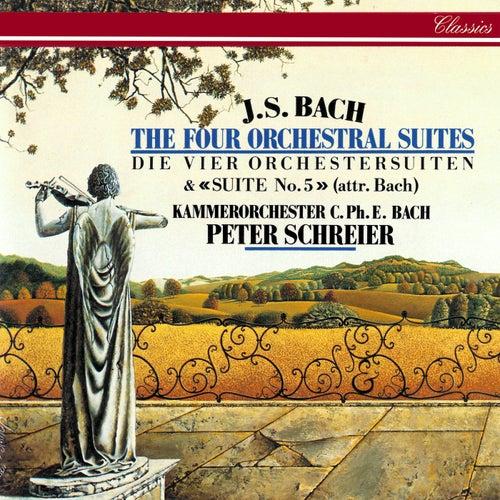 J.S. Bach: Orchestral Suites Nos. 1-5 von Peter Schreier
