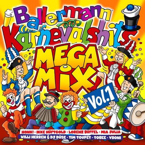 Ballermann Karneval Hits Megamix, Vol.1 von Various Artists