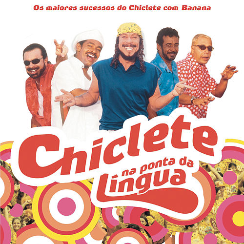 Chiclete Na Ponta Da Língua de Chiclete Com Banana