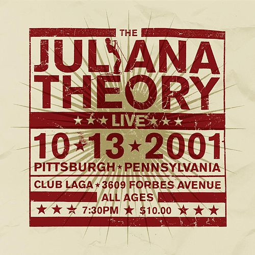 Live 10.13.2001 (Live) by The Juliana Theory