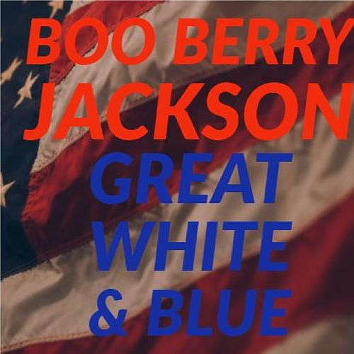 Great White & Blue de Boo Berry Jackson