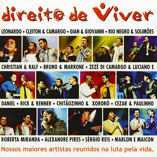 Direito de viver (Ao vivo) von Various Artists