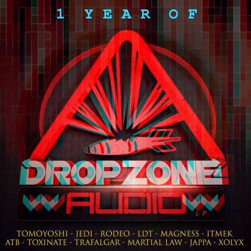 1 Year Of Dropzone Audio LP von Various Artists