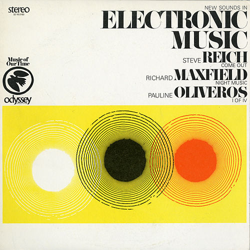 New Sounds In Electronic Music de Steve Reich