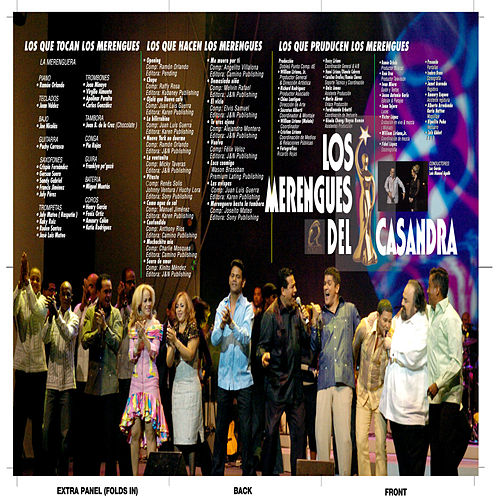 Los Merengues Del Casandra de Various Artists