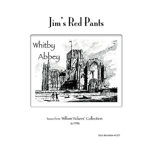 Whitby Abbey de Jim's Red Pants