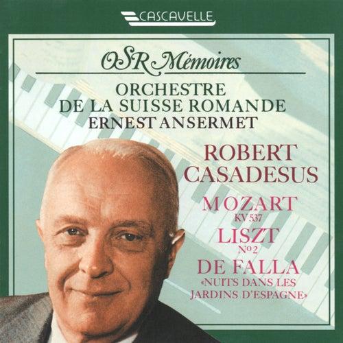 Mozart: Piano Concerto No. 26 in D Major, K. 537 'Coronation' - Liszt: Piano Concerto No. 2 in A Major, S. 125 - Falla: Nights in the Garden of Spain, G. 49 (Live) von Various Artists