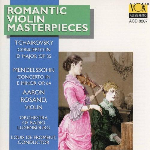 Mendelssohn & Tchaikovsky: Violin Concertos de Aaron Rosand