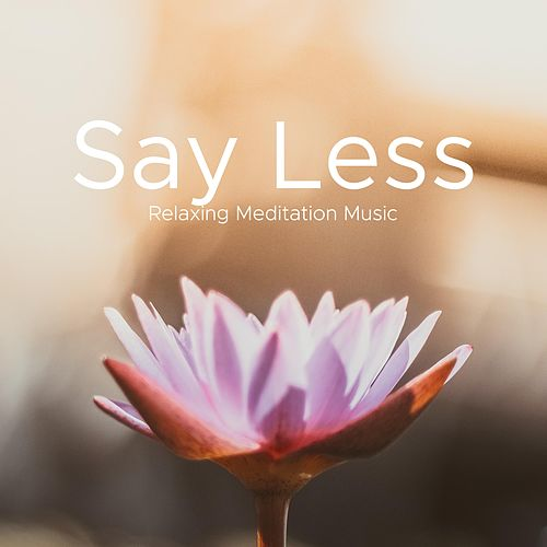 Say Less - Relaxing Meditation Music, Nature Sounds, Take Time to Destress, Calm your Mind and Body von Best Relaxing SPA Music