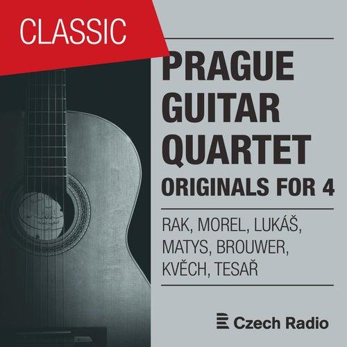 Prague Guitar Quartet: Originals for 4 by Prague Guitar Quartet