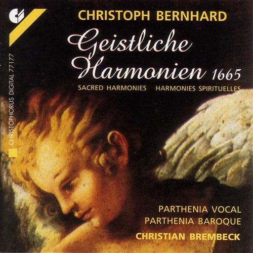 BERNHARD, C.: Sacred Harmonies (Parthenia Vocal, Parthenia Baroque, Brembeck) de Various Artists