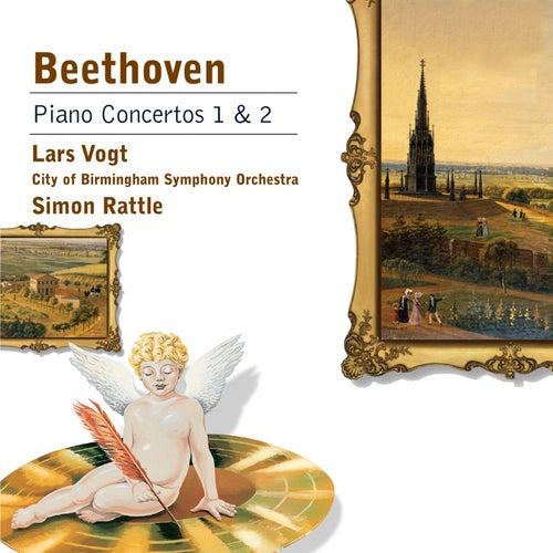 Beethoven Piano Concertos Nos 1 & 2 by Lars Vogt