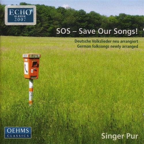 SINGER PUR: German Folksongs by Various Artists