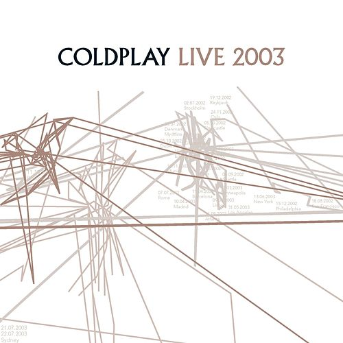 Live 2003 van Coldplay