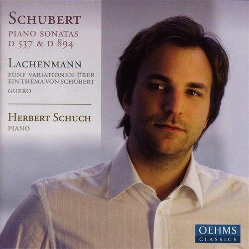 SCHUBERT, F.: Piano Sonatas Nos. 4 and 18 / LACHENMANN, H.: 5 Variations on a Theme of Franz Schubert / Guero (Schuch) by Herbert Schuch