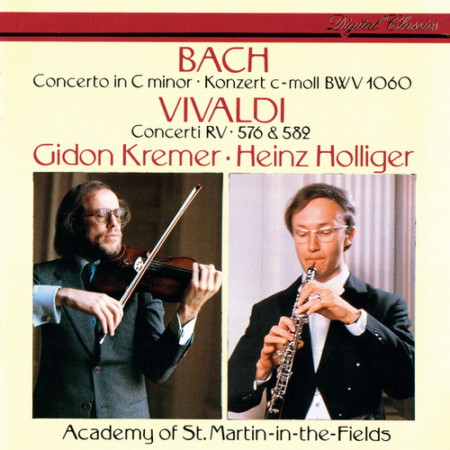 J.S. Bach: Concerto in C Minor / Vivaldi: Concerto in G Minor; Violin Concerto in D Major by Gidon Kremer