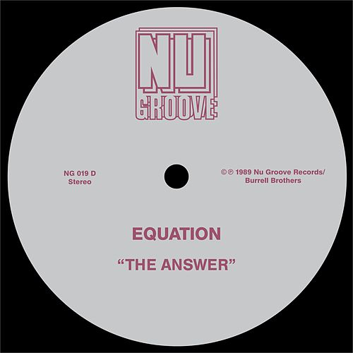 The Answer by Equation