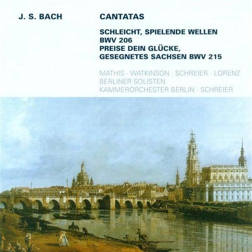 BACH, J.S.: Cantatas - BWV 206, 215 (Schreier) de Peter Schreier